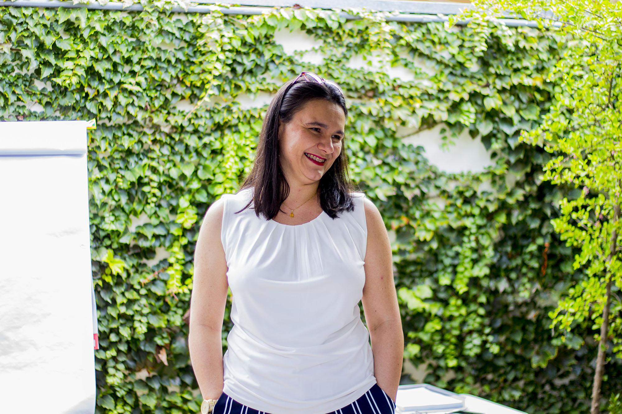 Elisandra Pizza, psicóloga e terapeuta